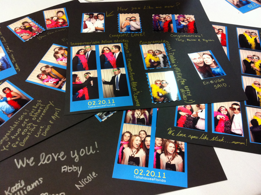 We also offer online photo galleries fun props memory books and more
