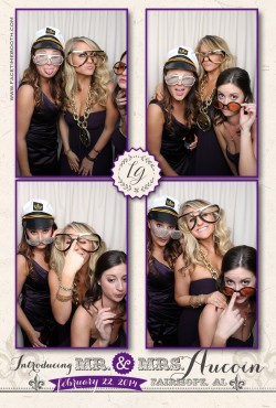 fairhope, alabama wedding photo booth